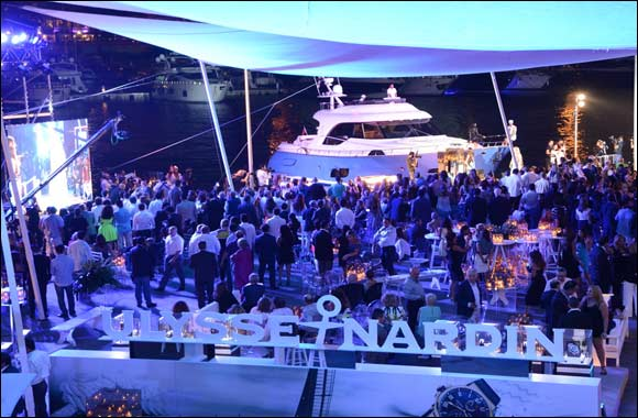 Ulysse Nardin strengthens its legacy by serving as timekeeper for the 2015 Yachting Premiere in Beirut