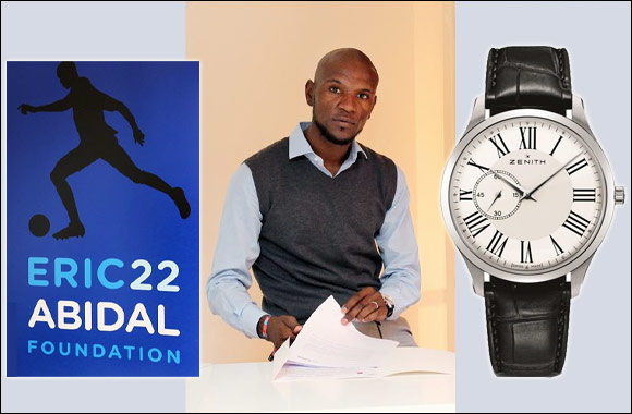 Zenith lent its support to the Eric Abidal Foundation over the weekend