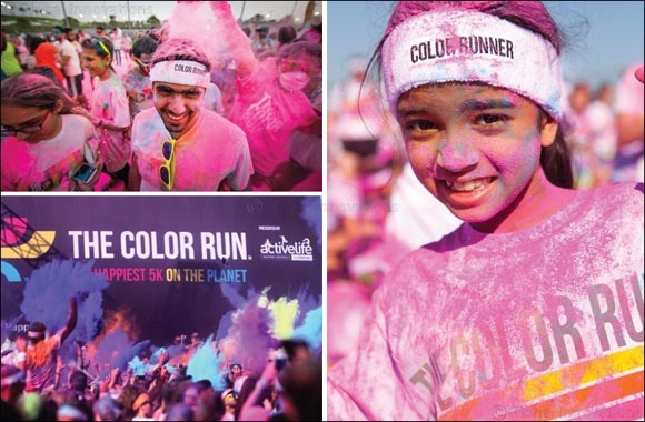 Reebok joins in the fun at The Color Run™ Qatar presented by Sahtak Awalan: Your Health First on Saturday 9th January 2016