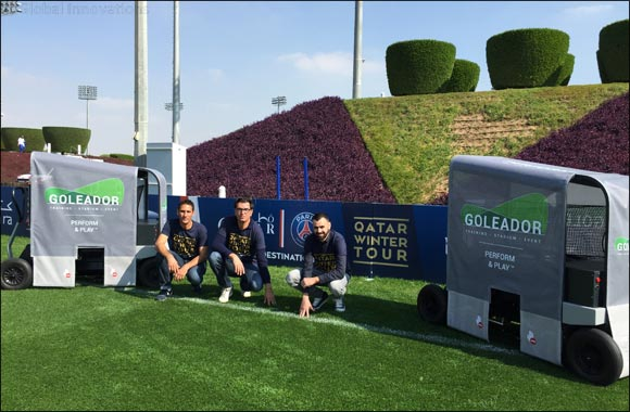 GOLEADOR Training™ football launchers arrive in the Middle East