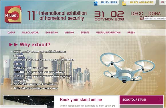 Milipol Qatar launches its refreshingly new website.