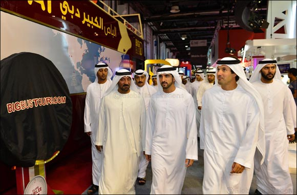 Crown Prince of Dubai opens Arabian Travel Market