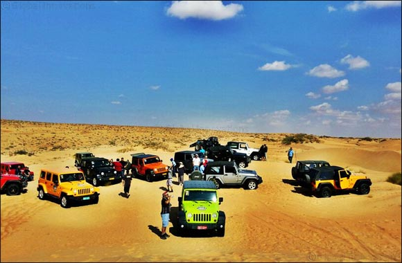 Arctic Trucks Middle East is back with a brand new off – roading season!