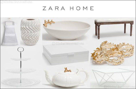 Zara Home Pure White Collection for Fall Winter 2016