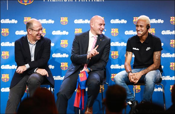 Gillette Announces Global Partnership with Futbol Club Barcelona