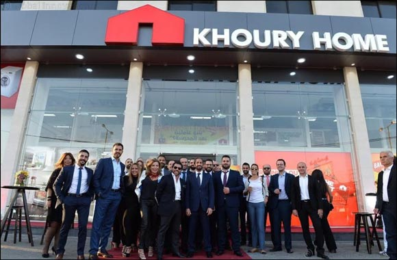 Khoury Home opens its 10th branch in Zahle