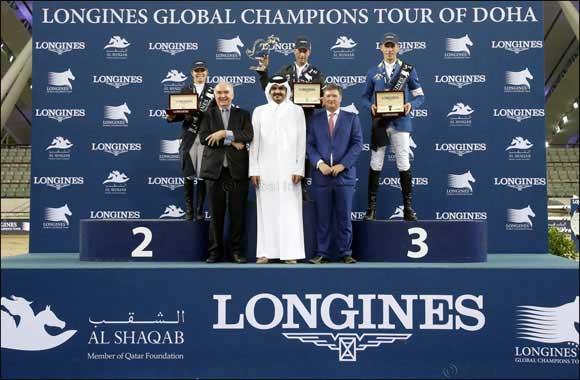 Rolf-Göran Bengtsson a remporté le Longines Global Champions Tour 2016 après une finale pleine de suspense à Doha