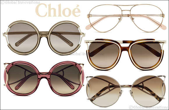 Chloé eyewear - Vintage shapes, retro styles, with '70s appeal.