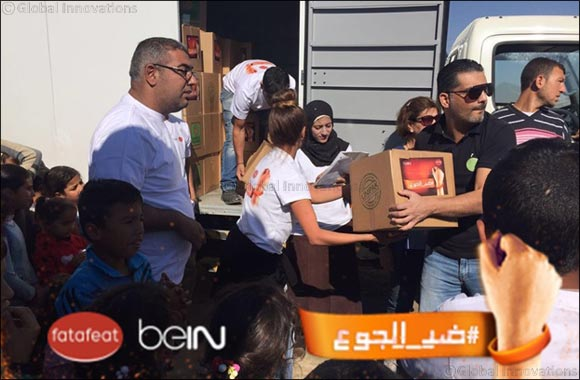 Journey to End Hunger by Fatafeat and beIN encouraging the masses to take Action against Hunger – Inspiring Campaign Continues to Exceed Expectations
