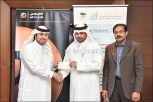 al khaliji supports World Diabetes Day through an awareness session