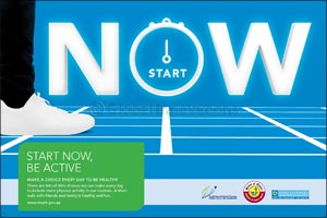 The Ministry of Public Health Launches Its �Start Now� Awareness Campaign