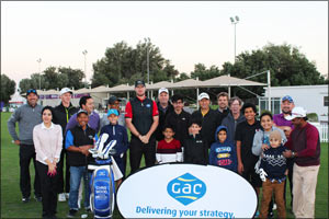 GAC on the greens - World-Class Golfing Pro gives masterclass in Doha
