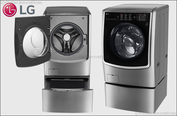 LG changes the world's washing paradigm with its latest TWINWashTM washing machine now in the UAE
