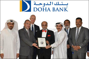 Doha Bank named �Best Trade Finance Bank' in Qatar at Global Finance Awards 2017
