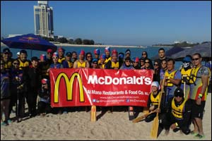McDonald's Qatar supports local sporting activities