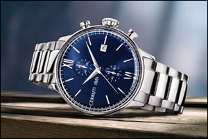 Cerruti 1881 launches a new collection of timepieces and accessories