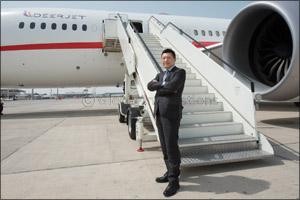 Deer Jet's 787 Dream Jet makes ME debut in Qatar