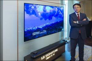 LG Signature OLED TV W marks its entry in the UAE with World's-First Wallpaper Design