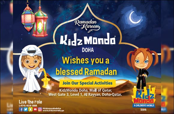 KidzMondo Doha celebrates the Holy month of Ramadan for the first time at its indoor theme park