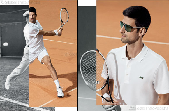 LACOSTE eyewear: Novak Djokovic is the new Crocodile