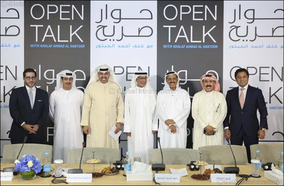 Khalaf Ahmad Al Habtoor Addresses Escalating GCC-Qatari Relations with Panel of Regional Experts in his 4th Open Talk Series