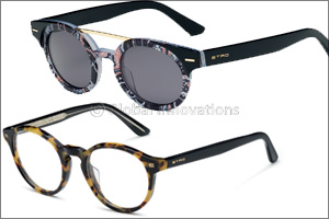 Etro eyewear - Paisley pattern, high-tech materials &  timeless color