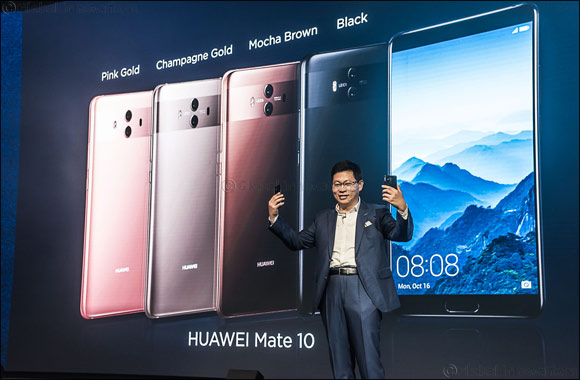 Huawei unveils the long-awaited HUAWEI Mate 10 and HUAWEI Mate 10 Pro