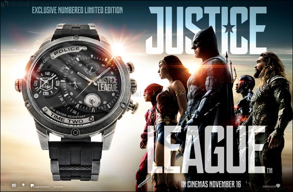 Justice League – Join the League: Police Limited Edition Timepiece