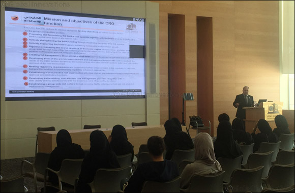 "al khaliji organizes session titled ""Risk Management Best practices"" for Qatar University students"