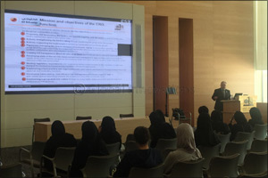 al khaliji organizes session titled �Risk Management Best practices� for Qatar University students