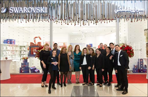 Swarovski Welcomes the Festive Season with an Exciting Event in Doha