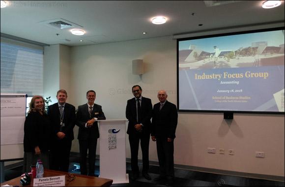 Al Khaliji CFO attends focus group meet to review Business Studies - Accounting program at CNA-Q