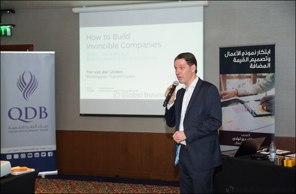 QDB successfully conducts 'Business modeling' course