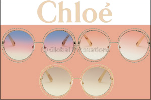 Chlo� Reinterprets the Iconic �Carlina� Sunglass With an Exclusive Twist Motif