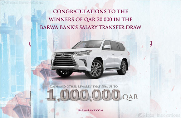 Barwa Bank announces the 2nd draw winners  of Salary Transfer campaign