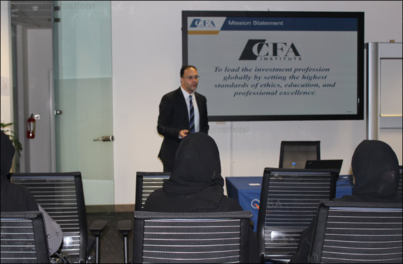 QFBA, in collaboration with CFA Society Qatar, hosted a free CFA Information Session