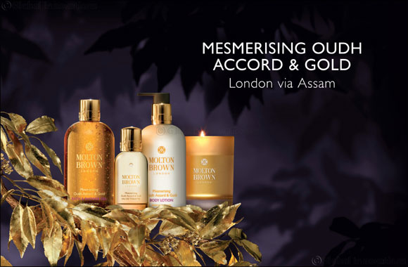 NEW Mesmerising Oudh Accord & Gold Hand Collection & Bathing Luxuries