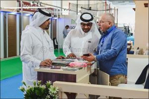 QDB participates in Building and Construction Materials International Exhibition (BATIMATEC) 2018