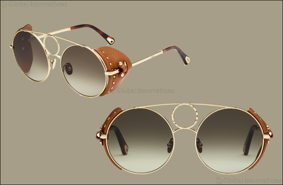 "Chloé Evokes the Wild Spirit of the Desert  In the New ""Sierra"" Sunglasses"