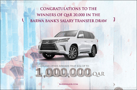 Barwa Bank announces the 3rd draw winners  of Salary Transfer campaign