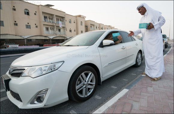Sealine Beach Resort volunteers distribute  iftar for motorists in Mesaieed and Al Wakrah