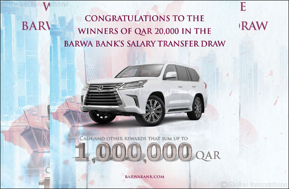 Barwa Bank announces the 4th draw winners  of Salary Transfer campaign