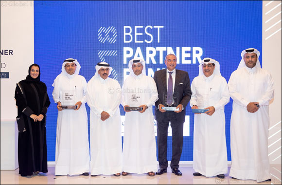 QDB hosts the Best Partner Bank Award for supporting SMEs through Al Dhameen Program