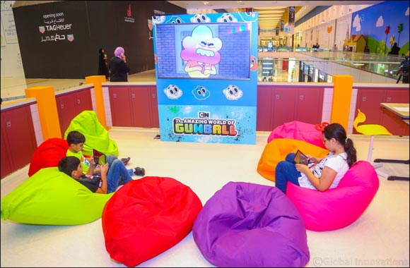 Doha Festival City Celebrates Back to School Season with the Amazing World of Gumball