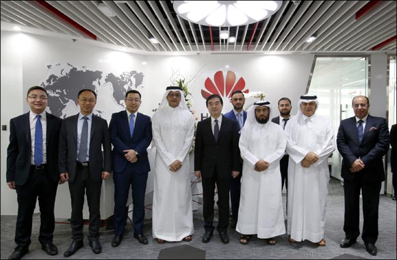 Huawei becomes one of the first multi-national technology companies to register with one hundred percent ownership in Qatar, opens new office in Doha to support expanded activities