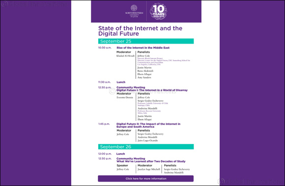 Media Scholars to Discuss Digitization and State of the Internet at NU-Q