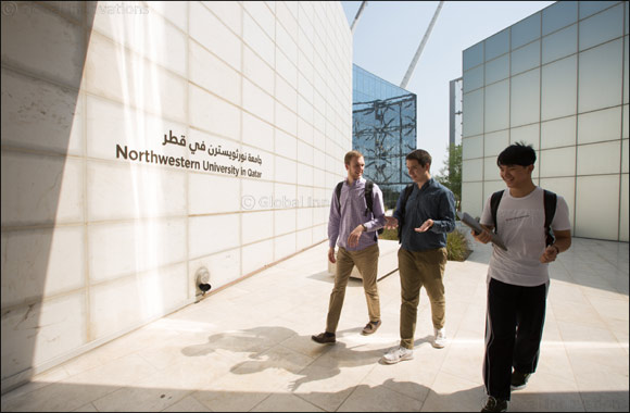Northwestern Students Study on Doha Campus