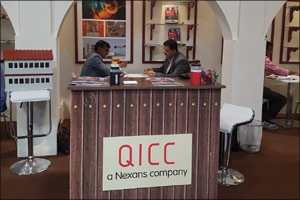Qatar International Cable Company (QICC) participates at Infra Oman 2018 to develop export from Qata ...