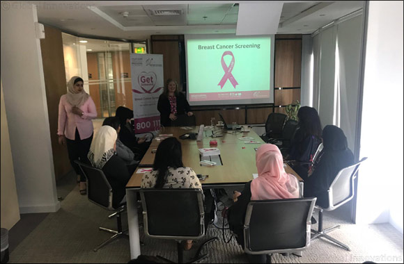 al khaliji holds awareness session to mark Breast Cancer Awareness Month