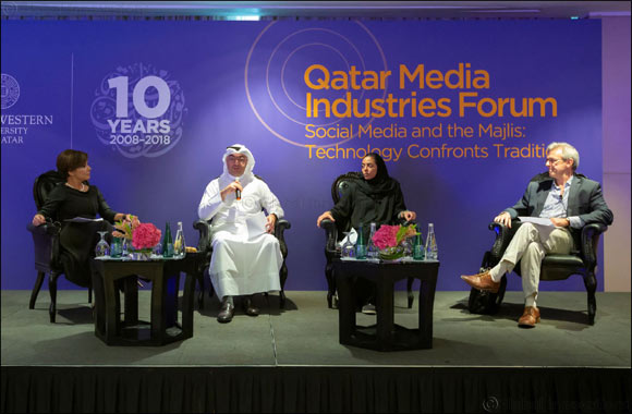 NU-Q Forum Weighs Impact of Social Media on Culture of Majlis